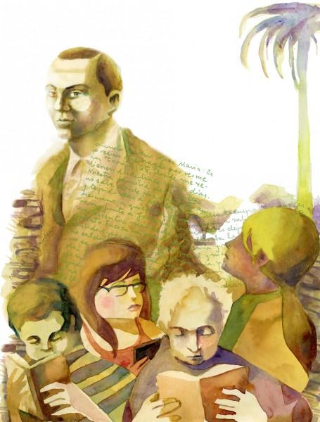 Feria del libro. Miguel Hernández.